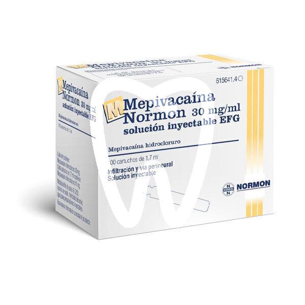 Product - MEPIVACAINA 3% EFG AMARILLA  (MEPIVACAINA)