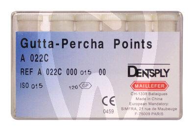 Product - PUNTAS DE GUTTAPERCHA ISO Nº 10-120 MAILLEFER