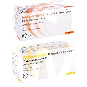 Product - ANESTESIA MEGANEST (ARTICAINA)