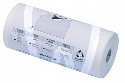 Product - BABEROS PAPEL-PLASTICO BLANCOS