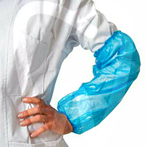 Product - MANGUITOS PROTECTORES IMPERMEABLES AZULES