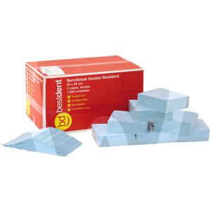 Product - SERVILLETAS 40X40 AZUL 3 CAPAS