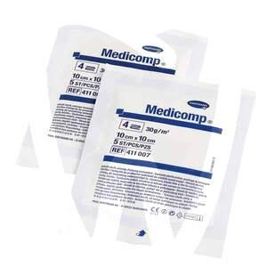 Product - GASAS ESTÉRIL MEDICOMP 7,5X 7,5 CM.