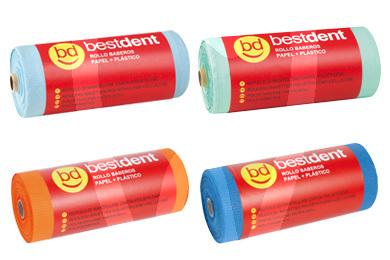 Product - BABEROS PLASTICO-PAPEL BESTDENT