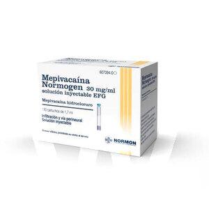 Product - ANESTESIA NORMOGEN 30 MG/ ML (MEPIVACAINA)
