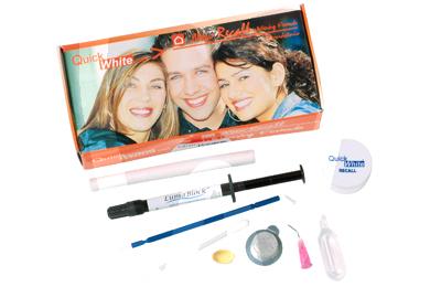 Product - QUICK WHITE RECALL KIT KREC001